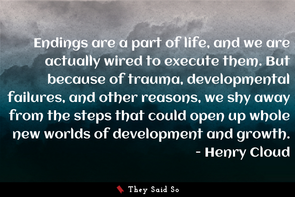 A quote by Henry Cloud